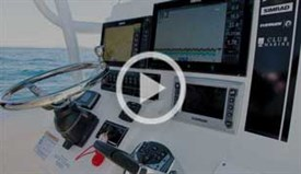 Simrad marine electronics video