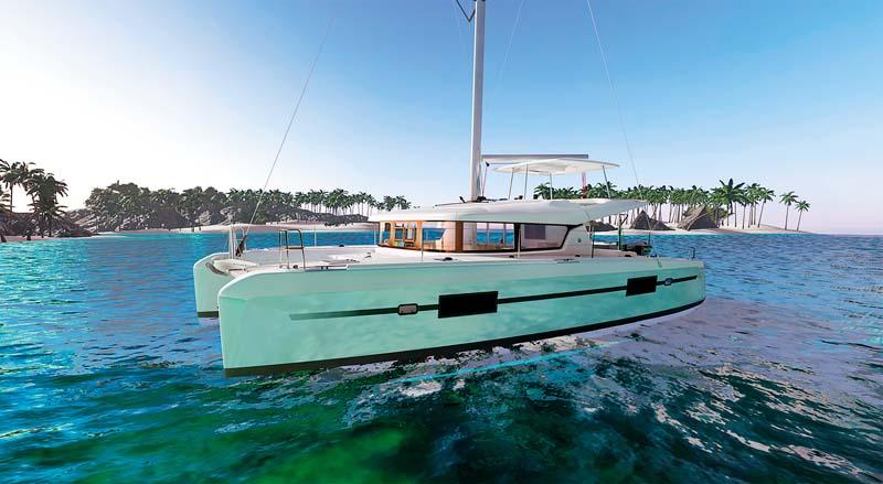 Lagoon 42 sail cat