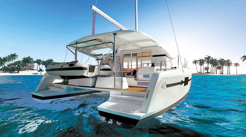 Lagoon 42 sailing cat