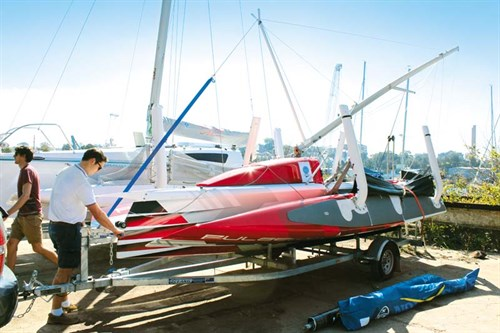 Trailerable trimaran Corsair Pulse 600