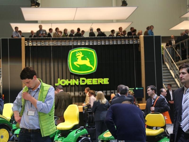 John Deere Stand Agritechnica 2015