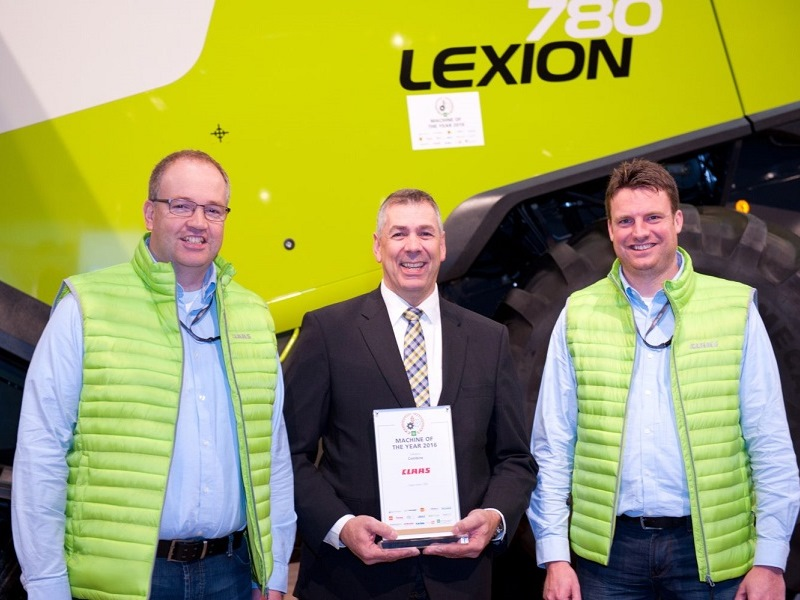 Claas Lexion 700 Machine Of The Year