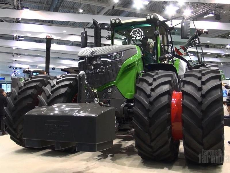 Fendt 1000 Vario Tractor Video