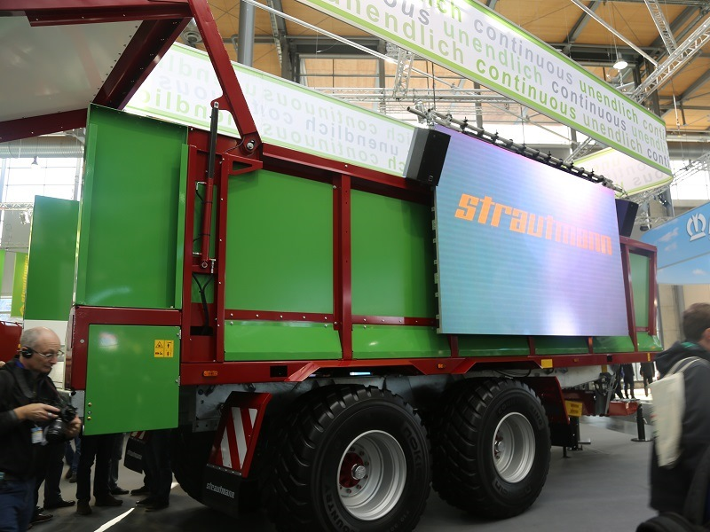 Agritechnica 2015 Strautmann Aperion