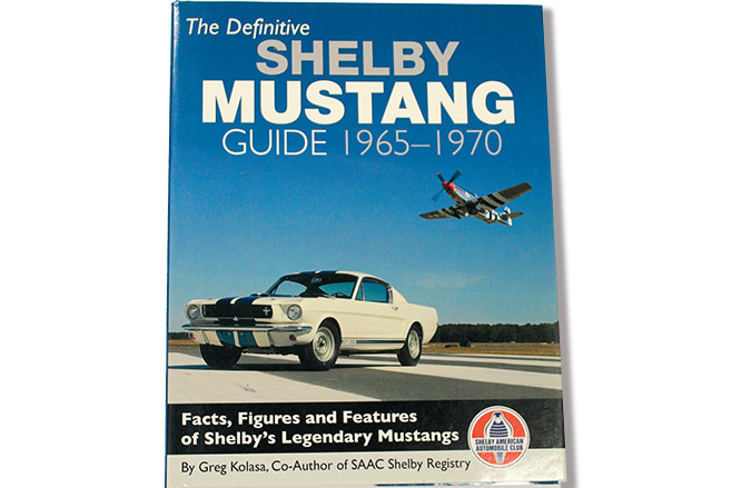 Shelby -mustang -book