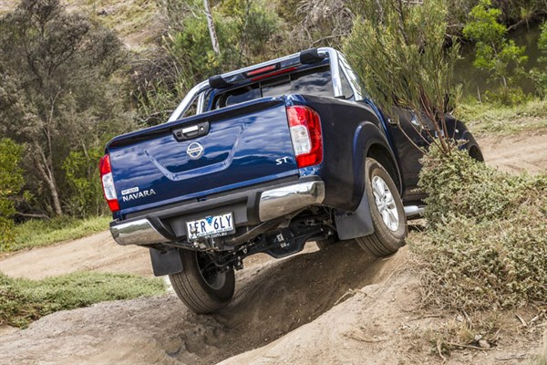 Ute Shoot Out -Nissan Navara NP300_ride