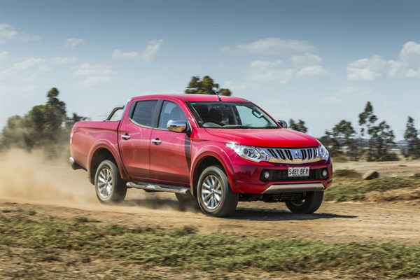 Ute Shoot Out -Mitsubishi Triton _exterior