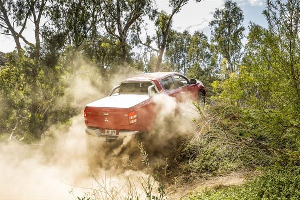 Ute Shoot Out -Mitsubishi Triton _ride