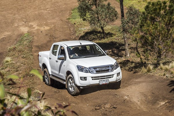 Ute Shoot Out -Isuzu D-Max _exterior