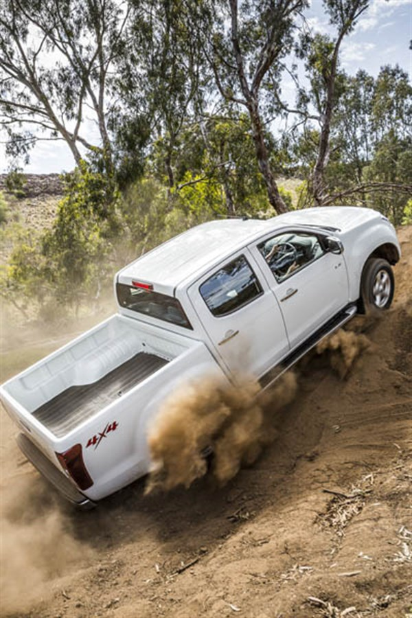 Ute Shoot Out -Isuzu D-Max _ride