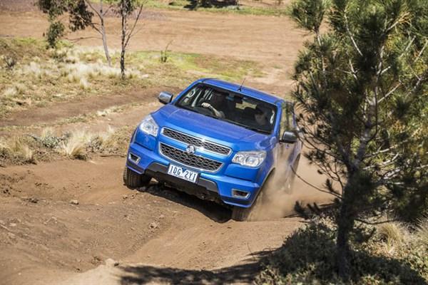 Ute Shoot Out -Holden Colorado _exterior