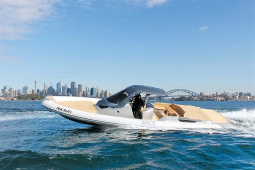 SACS Strider 13 inflatable boat