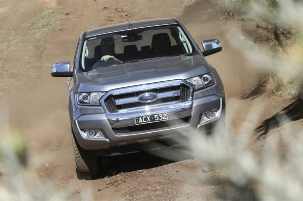 Ute Shoot Out -Ford Ranger