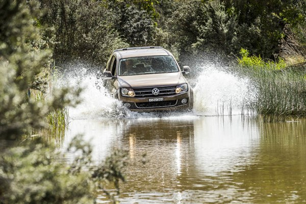 Ute Shoot Out -Volkswagen Amarok _exterior