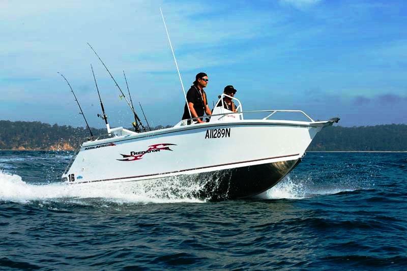 Anglapro Predator 16 fishing boat