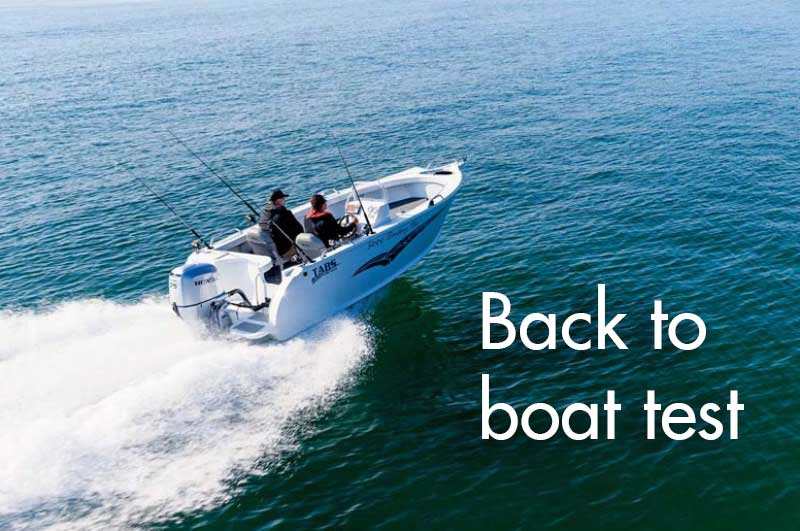 TABS 5000 Territory Pro boat review