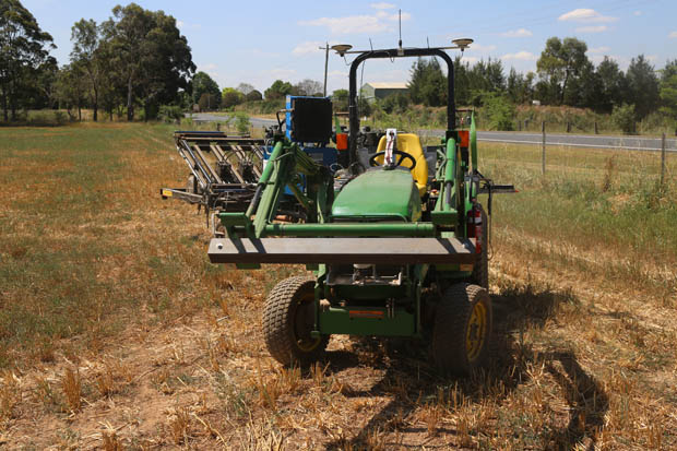 UNSW Smart Seeder Making A Turn