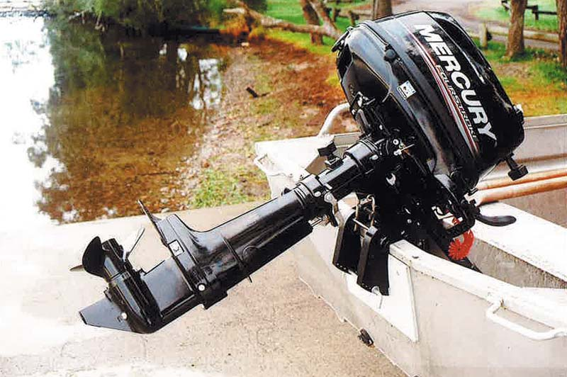 Mercury F6 portable outboard