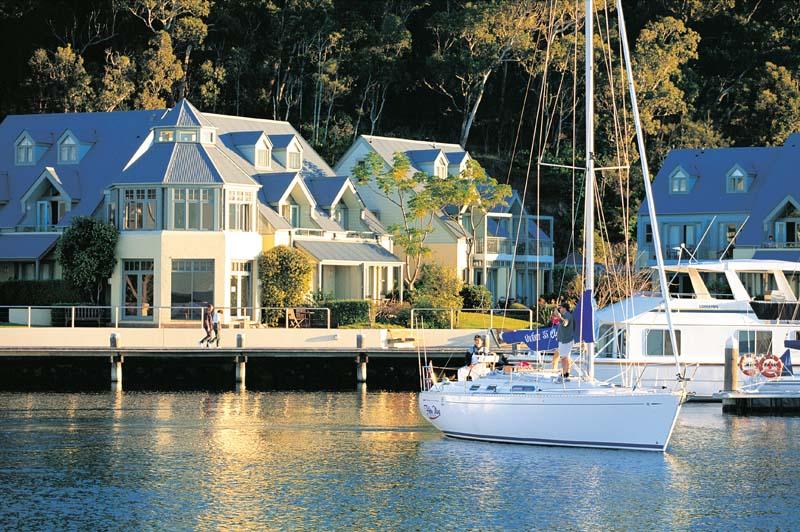 Anchorage Port Stephens.