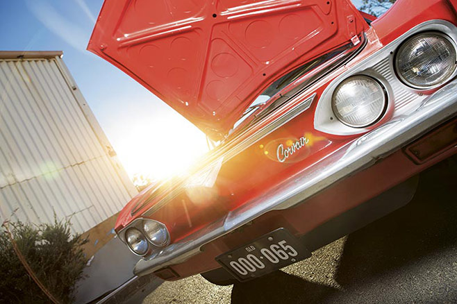 Chevrolet -Corvair -front -bumper -658