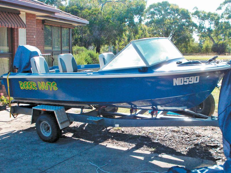 Savage Avalon project boat restoration