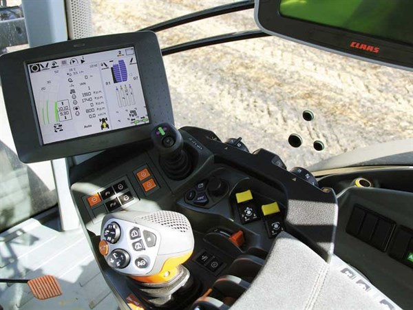 Claas Axion 830 Controls
