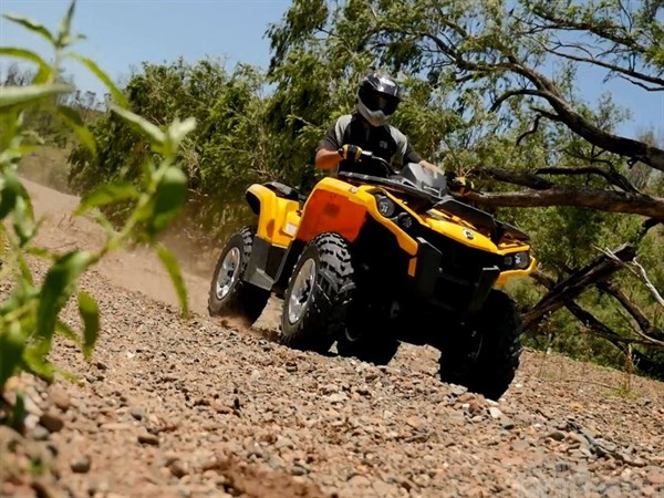 Can -Am Outlander L 570 ATV Review