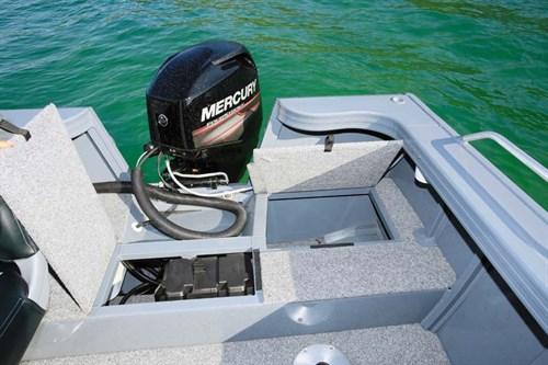 60 hp Mercury Four Stroke outboard motor