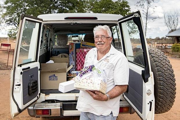 Aussie Helpers Brian Egan