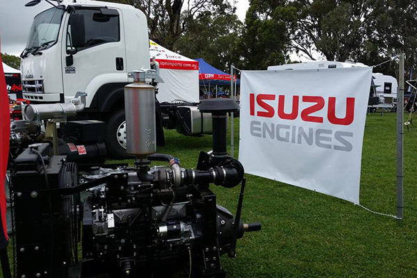 Isuzu ,-display ,-tour ,-australia ,-TT2