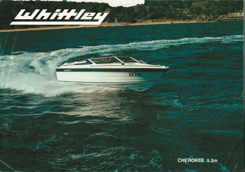 Whittley Cherokee 5.3 brochure