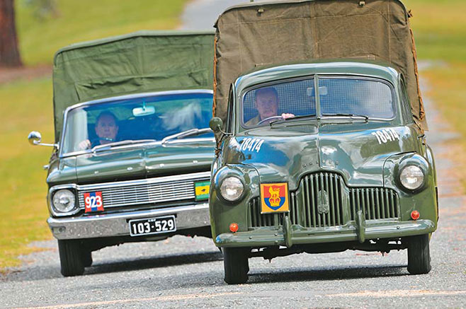 Army -FX-Holden -XP-Ford -235
