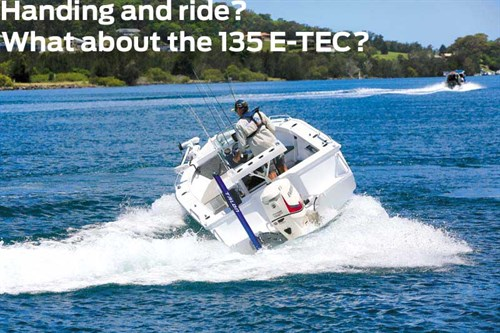 135 hp Evinrude E-TEC on Stacer 539 Nomad