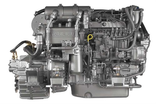 Yanmar 4LHA-STP marine diesel engine review