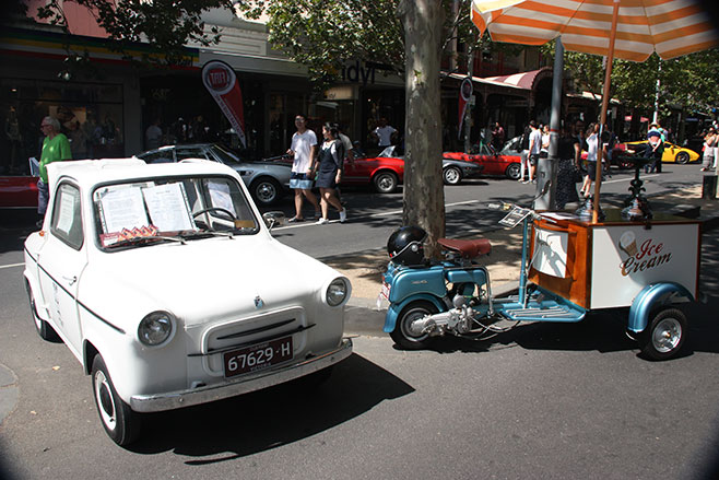Vespa -car -lambretta -ice -cream