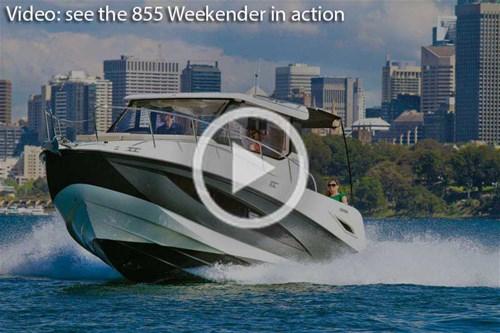 Arvor 855 Weekender video review