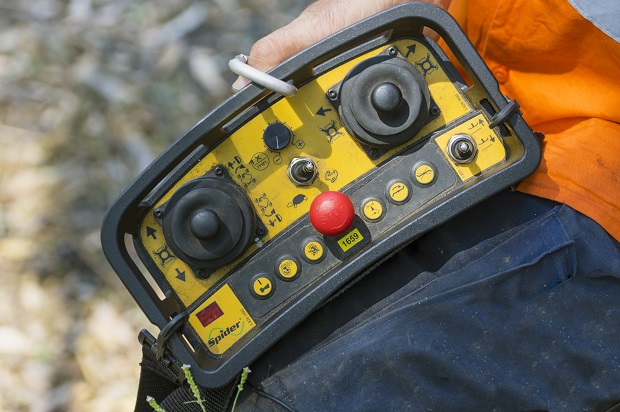 Spider -ILD-02-mower _remote Control