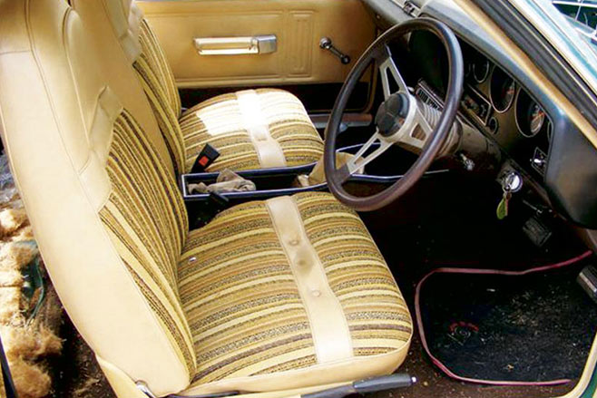 Charger -interior
