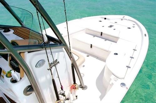 Sea Fox 220 Viper casting deck