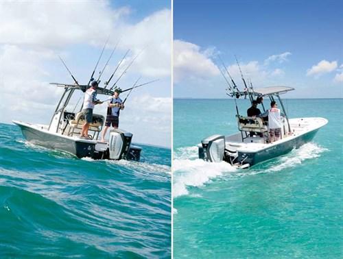 Sea Fox 220 Viper on the water