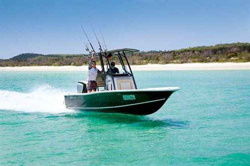 Sea Fox 220 Viper fishing boat