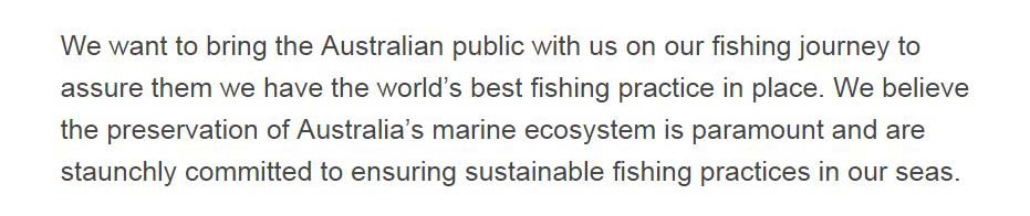 Seafish Tasmania sustainability