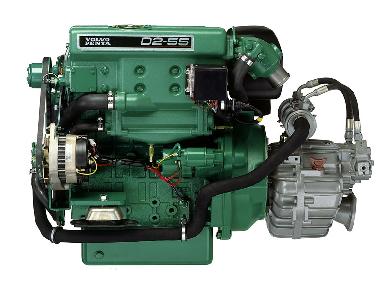 volvo penta d2 55 marine diesel engine review trade boats australia rh tradeboats com au Volvo Penta Engine Diagram Volvo Penta Trim Switch