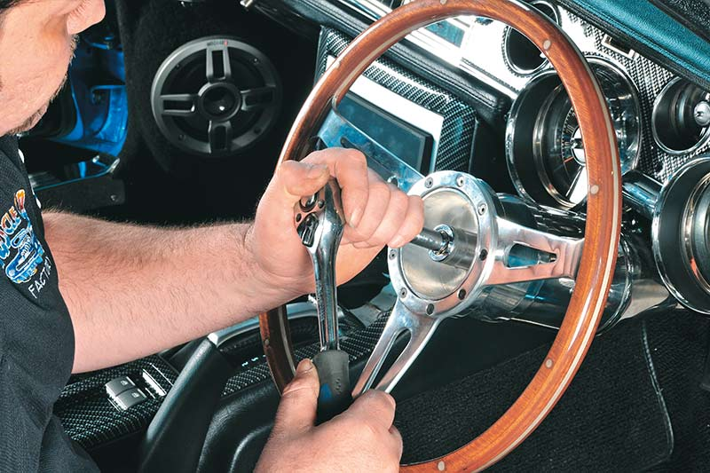 3-Digital -dash -classic -cars -steering -wheel