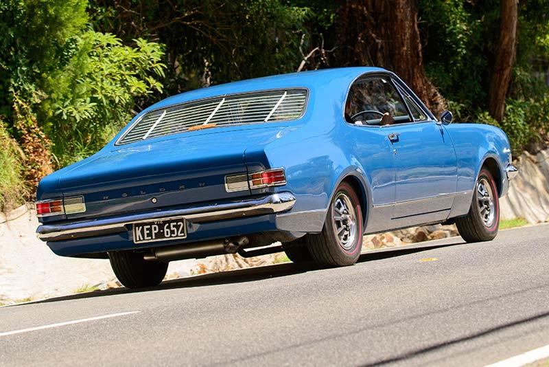 Holden -HK-Monaro -186-onroad -rear