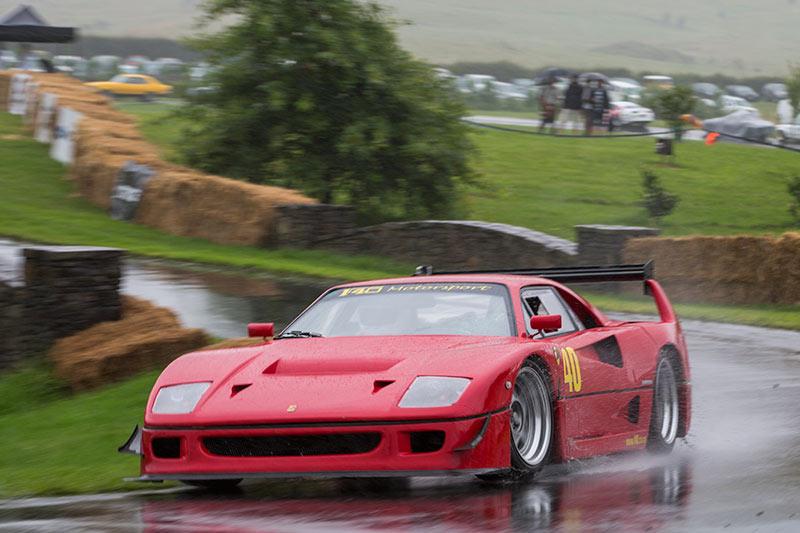 Leadfoot -festival -Steve -Cox -Ferrari -F40