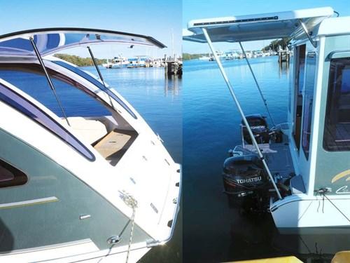Caraboat 7500 rear platform