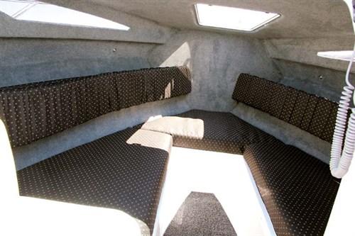 CSB Huntsman Sotalia cabin interior