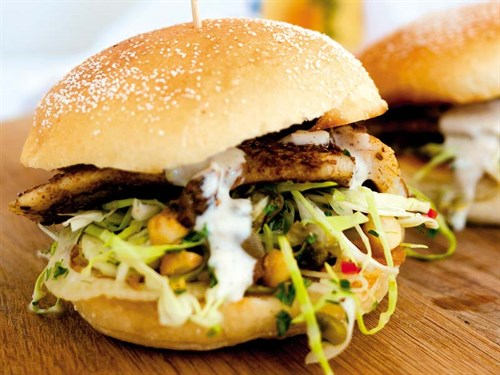Cumin -fish -burger