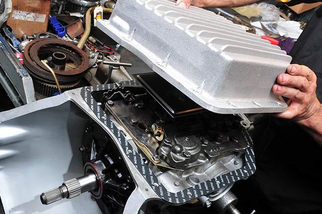 Torana -transmission -sump -658